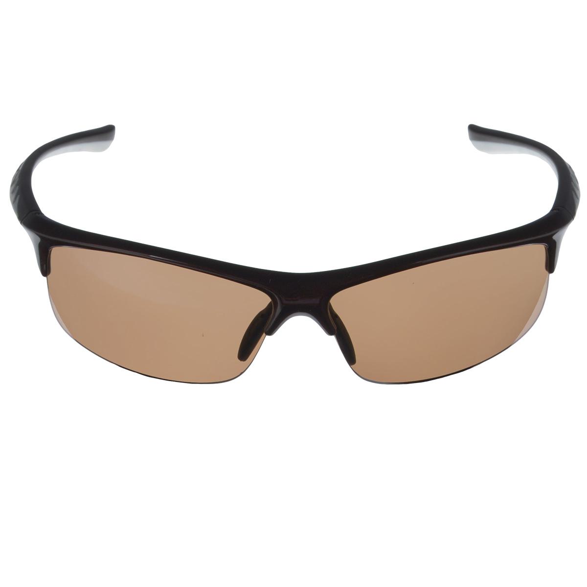 SP Glasses AS021 Premium, Chocolate White водительские очки темныеINT-06501SP Glasses AS021 Premium - релаксационные комбинированные очки для активного отдыха с коричневым светофильтром. Они рекомендуются для использования в дневное время и ясную погоду для защиты глаз от яркого солнца. Отлично блокируют ультрафиолетовые лучи (UV 400).Наносники: нерегулируемые