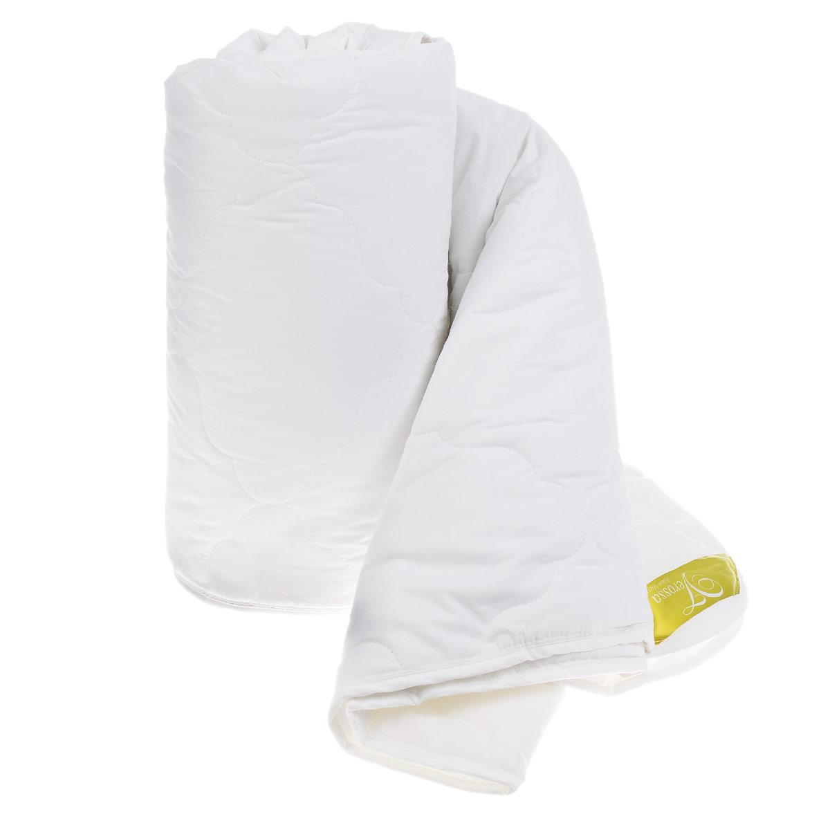 Одеяло легкое Verossa AloeVera, наполнитель: полиэстер, цвет: белый, 200 см х 220 см531-105Легкое одеяло Verossa AloeVera подарит незабываемое чувство комфорта и уюта во время сна. При уменьшении статического электричества качество сна увеличивается, вы почувствуете себя более отдохнувшим и снявшим стресс. Идеально подойдет людям, которые много времени проводят на работе, подвержены стрессу и заботятся о своем здоровье. Изделие также отлично отводит и испаряет влагу.Одеяло упаковано в пластиковую сумку-чехол, закрывающуюся на застежку-молнию.Рекомендации по уходу: - Можно стирать в стиральной машине при температуре не выше 30°С. - Не отбеливать. - Не гладить. - Нельзя отжимать и сушить в стиральной машине. - Химчистка с мягким растворителем. - Сушить на горизонтальной поверхности. Материал чехла: 65% хлопок, 35% полиэстер.Наполнитель: 100% полиэстер. Размер: 200 см х 220 см. Плотность наполнителя: 150 г/м2.