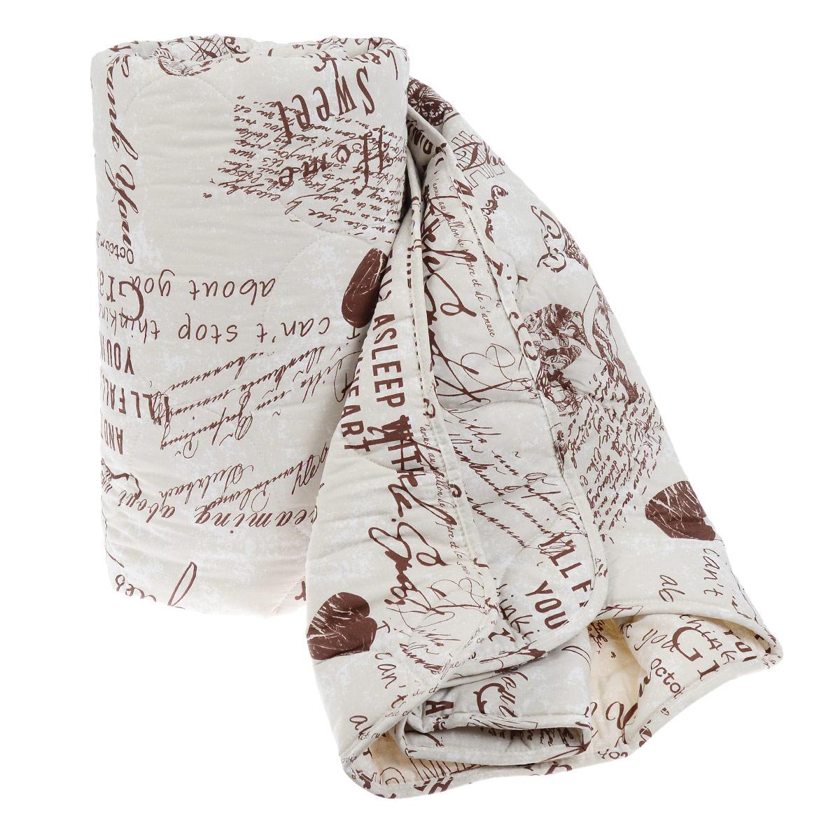 Одеяло Comfort Line, наполнитель: шерсть мериноса, 200 см х 220 см183680Классическое одеяло Comfort Lineподарит вам незабываемое чувство комфорта и умиротворения. Чехол выполнен из натурального хлопка. Внутри - наполнитель из мериносовой шерсти. Одеяло постоянно поддерживает нужную температуру: оно греет зимой и дает прохладу летом. Одеяло Comfort Line помогает просыпаться бодрыми и полными сил. Оно разработано специально для активных людей, заботящихся о своём здоровье, проводящих много времени у компьютера. Изделия из мериносовой шерсти великолепно стимулирует кровообращение, помогают людям, страдающим остеохондрозом, ревматизмом, бронхиальными недугами. Одеяло упаковано в пластиковую сумку-чехол, закрывающуюся на застежку-молнию. Рекомендации по уходу: - Нельзя стирать в стиральной машине. - Не отбеливать. - Не гладить. - Нельзя выжимать и сушить в стиральной машине.- Чистка с использованием углеводорода и трифло-трихлорметана. Материал чехла: 100% хлопок. Наполнитель: меринос (шерсть 70%, полиэстер 30%). Размер: 200 см х 220 см.Плотность: 300 г/м2.