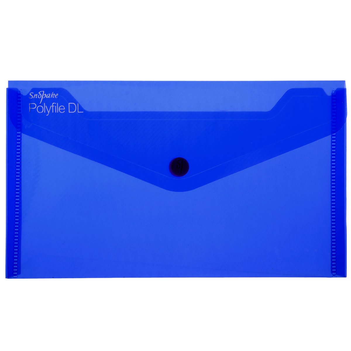 Папка-конверт на кнопке Snopake Polifile DL: Electra, цвет: синийK10035_синийПапка-конверт на кнопке Snopake Polifile DL: Electra это удобный и функциональный инструмент, предназначенный для хранения и транспортировки документов.Папка изготовлена из прочного пластика с рельефной текстурой, закрывается клапаном на кнопку. Содержит одно отделение, которое подойдет для паспорта, водительских документов, пластиковых карт.Папка-конверт - идеальный вариант для путешествий. Такая папка надежно сохранит ваши документы и сбережет их от повреждений, пыли и влаги. Она сочетает в себе классический дизайн и неизменно высокое качество.