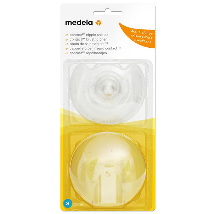 Накладки для кормления Contact помогут Вам в случае возникновения проблем с грудным вскармливанием. Они позволяют кормить ребенка грудью, невзирая на все эти трудности. Накладки для кормления Contact защищают Ваши соски во время кормления и помогают Вашему ребенку захватить грудь. Специальная форма обеспечивает максимально плотный контакт с кожей. Используются при наличии плоских или втянутых сосков, трещин или повреждений, а также, если малыш испытывает трудность при захвате соска. Накладки имеют специальный вырез, который позволяет малышу поддерживать тактильный и обонятельный контакт с мамой.