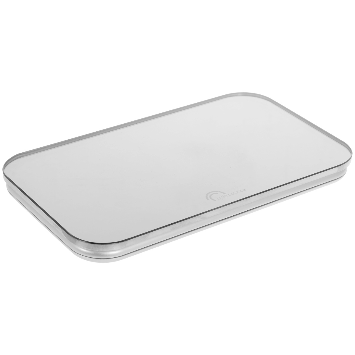 Весы напольные Little balance Nomade, цвет: стальной, зеркальныйPW 5661 FAНапольные весы Little balance Nomade просты и удобны в эксплуатации. Горизонтальная платформа изготовлена из качественного высокопрочного стекла, выдерживающего вес до 150 кг, и имеет зеркальную отделку. Корпус выполнен из полимерных материалов. Оснащены выдвигающимся цифровым дисплеем. Весы работают на батарейке типа CR2032 (входит в комплект). Прилагается инструкция по эксплуатации на русском языке.Материал: стекло, полимерные материалы.Размер: 23 см x 13 см x 2 см. Размер дисплея: 6 см x 2,9 см.