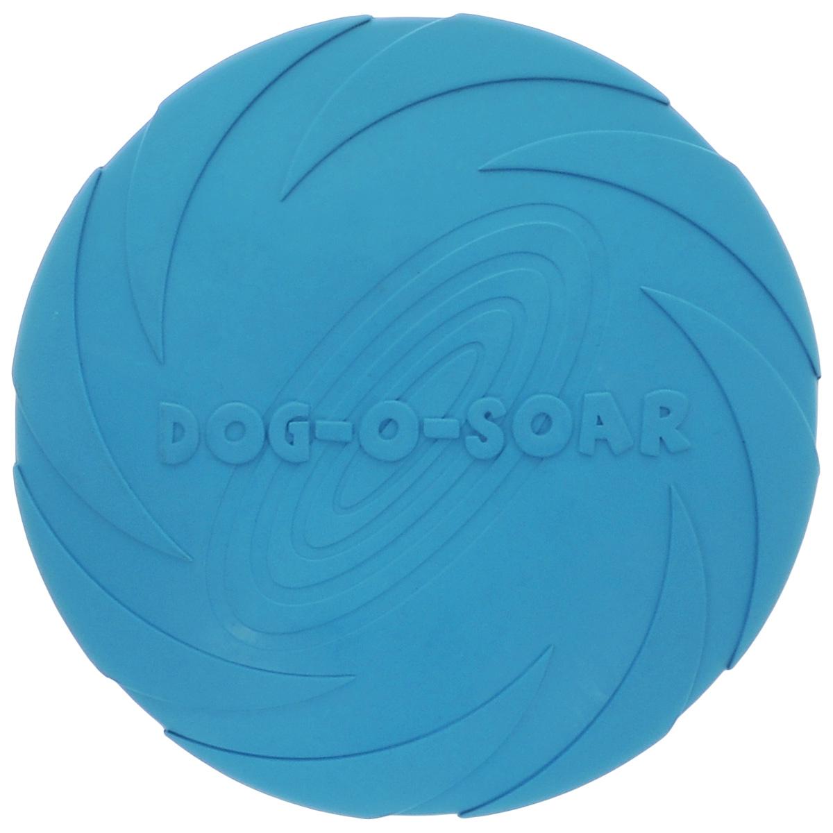 Игрушка для собак I.P.T.S. Фрисби, цвет: бирюзовый, диаметр 22 см0120710Игрушка I.P.T.S. Фрисби, выполненная из резины, отлично подойдет для совместных игр хозяина и собаки. В отличие от пластиковых, такая Фрисби не образует острых зазубрин и трещин, способных повредить десны питомца. Совместные игры укрепляют взаимоотношение и понимание. Диаметр: 22 см.