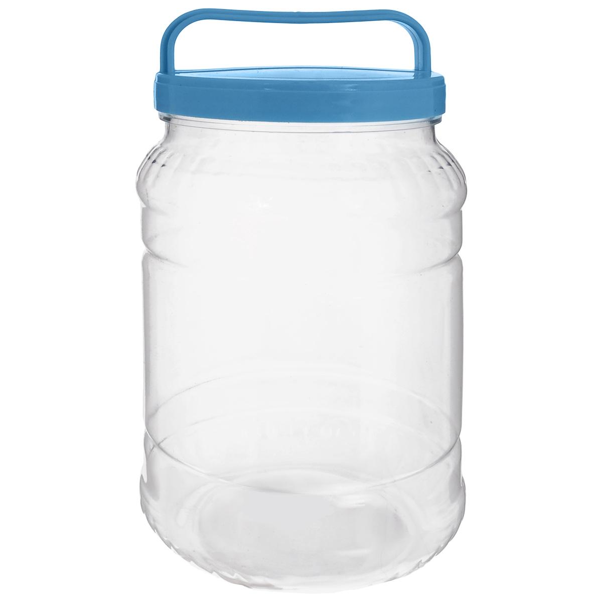 Бидон Альтернатива, цвет: прозрачный, голубой, 2 лZM-11026Бидон Альтернатива предназначен для хранения и переноски пищевых продуктов, таких как молоко, вода и прочее. Выполнен из пищевого высококачественного пластика. Оснащен ручкой для удобной переноски.Бидон Альтернатива станет незаменимым аксессуаром на вашей кухне.Высота бидона (без учета крышки): 20,5 см.Диаметр: 10,5 см.