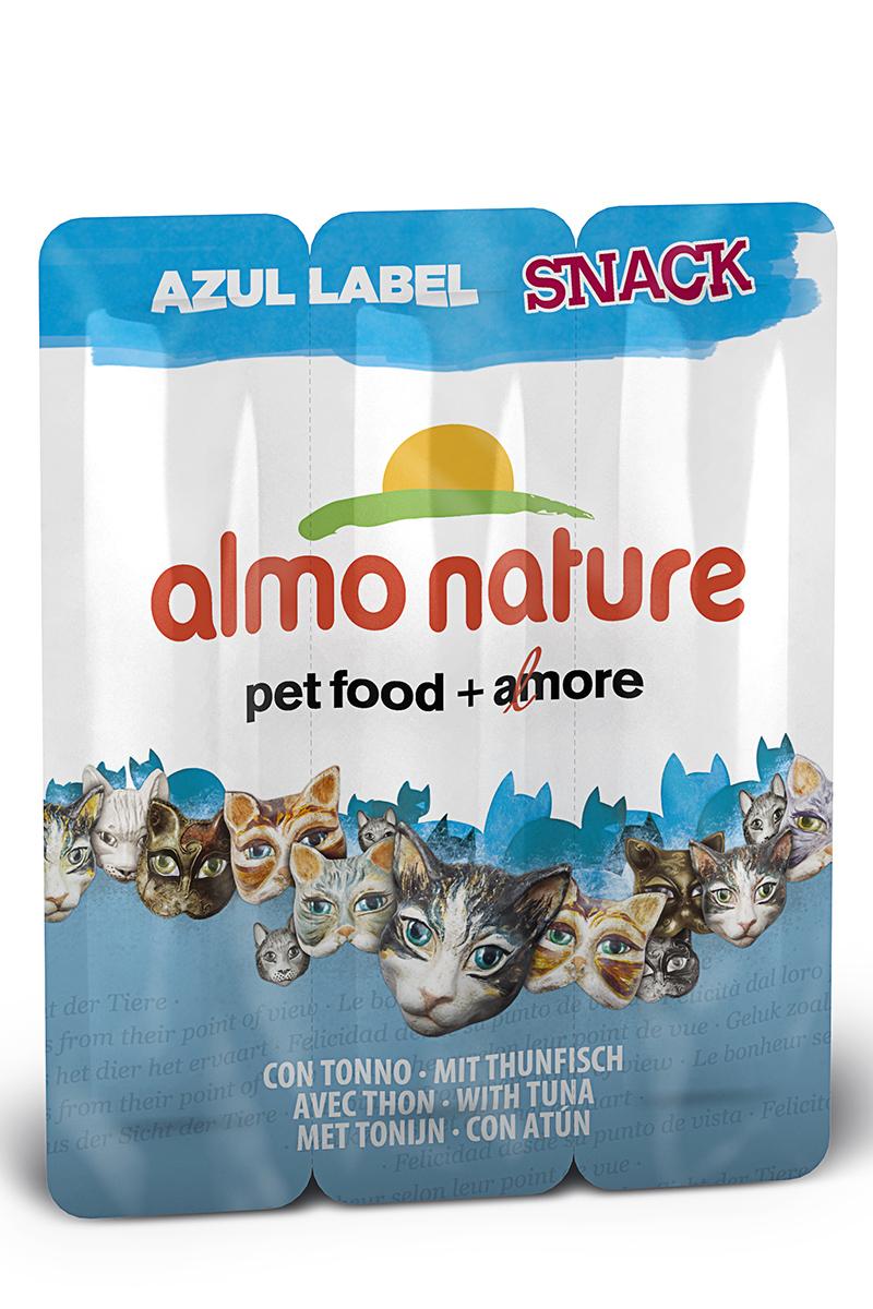 Лакомство для кошек Almo Nature Колбаски, с тунцом, 3 шт, 15 г0120710Лакомство для кошек Almo Nature Колбаски - это филе высококачественного мяса рыбы, приготовленное в собственном бульоне (24%), без искусственных добавок, красителей. Именно такой простой и естественный состав привлекает кошек. Лакомство идеально подходит для поощрения вашей кошки в интервалах между трапезами.Лакомство для кошек Almo Nature Колбаски - это всецело натуральные продукты, который обладает индивидуальным содержанием витаминов, минеральных веществи таурина.Состав: филе тунца, куриное филе, говядина, рис, куриная печень, яйцо, глютен, экстракт дрожжей, рыбный экстракт, сахар, куриный жир, соль.Товар сертифицирован.