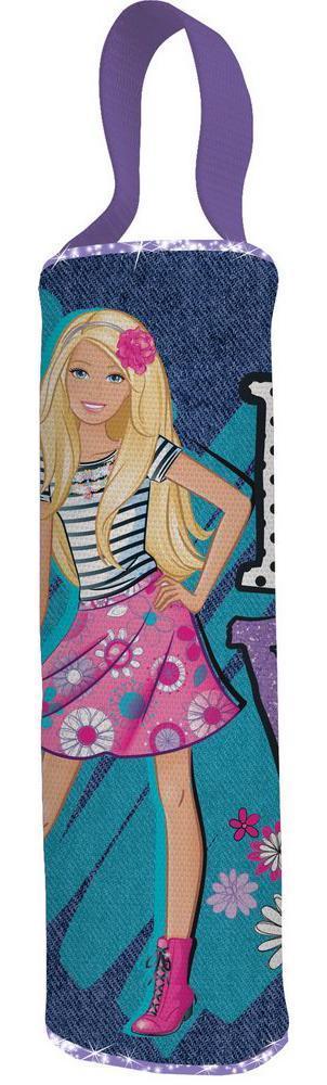 Пенал-тубус. Barbie72523WDШкольный пенал для канцелярских принадлежностей вместит в себя все самое необходимое для учебы. Пенал очень яркий и красочный. Изображения любимых героев мультфильмов поднимут настроение ученику, что тоже немаловажно.Пенал имеет надежный замок-молнию.
