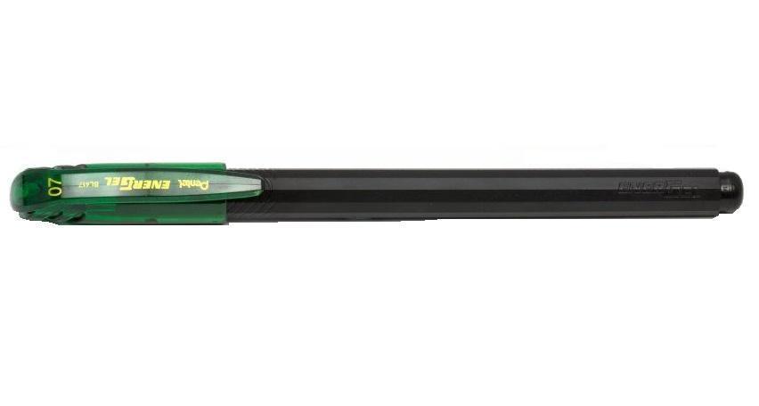Pentel Гелевая ручка ENERGEL цвет зеленыйPBL417-D
