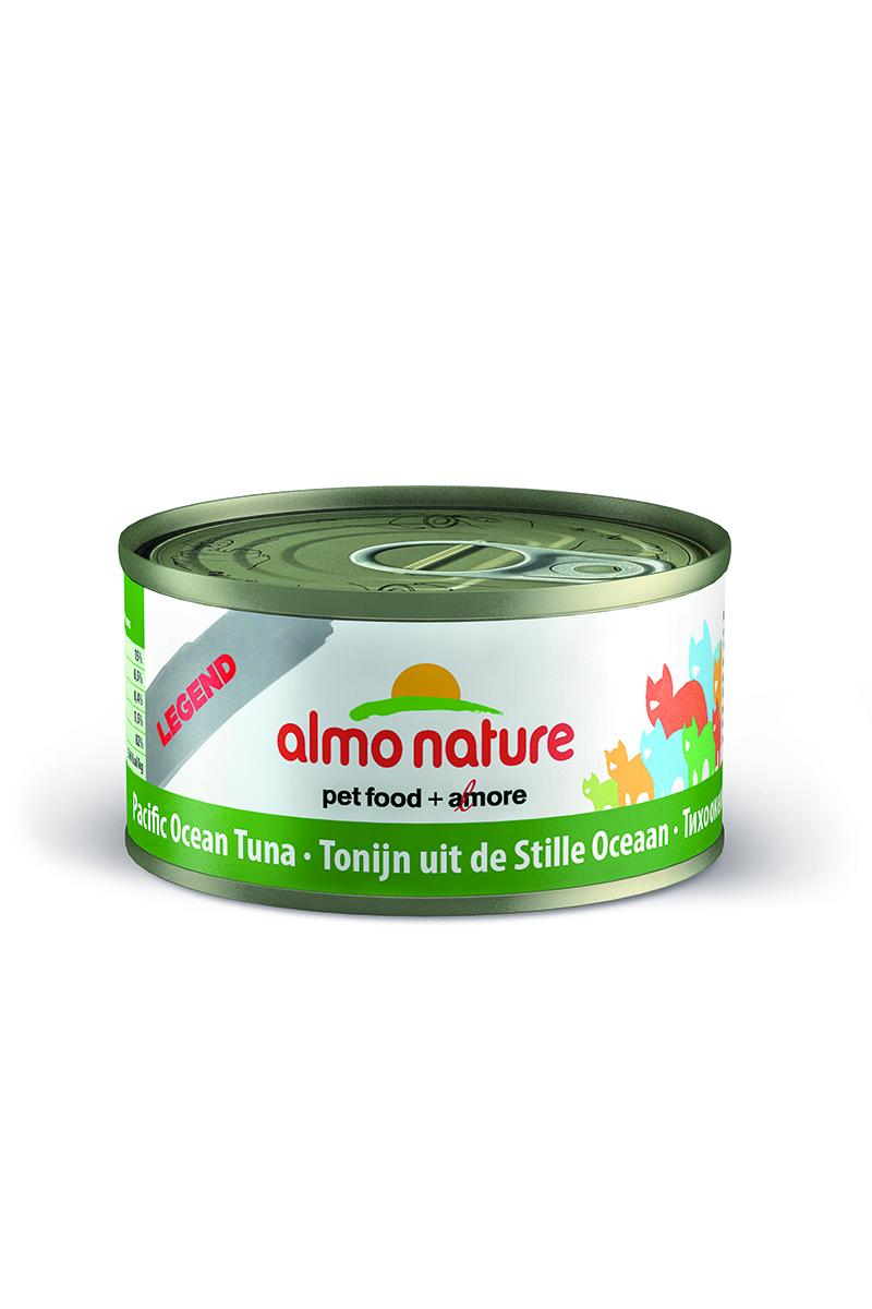 Консервы для кошек Almo Natureс Classic, с тихоокеанским тунцом, 70 г20098Консервы Almo Nature Classic - сбалансированный влажный корм для кошек, изготовленный из ингредиентов высшего качества, являющихся натуральными источниками витаминов и питательных веществ. Состав: тихоокеанский тунец - 55%, рыбный бульон - 24%, рис - 1%.Гарантированный анализ: белки - 20%, клетчатка - 0,1%, жиры - 0,5%, зола - 2%, влажность - 77%.Калорийность - 742 ккал/кг.Товар сертифицирован.