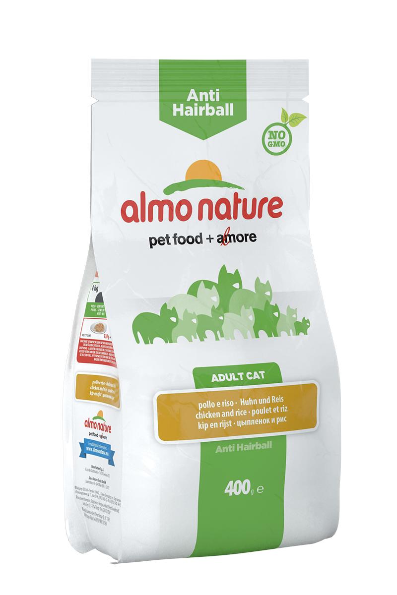 Корм сухой Almo Nature для взрослых кошек, с курицей и рисом, 400 г0120710Корм Almo Nature, предназначенный для взрослых кошек, содержит большой процент свежего мяса, что обеспечивает необходимое количество питательных веществ и оптимальное содержанием протеина. Корм создан для самых привередливых и аллергичных кошек. Прекрасный вкус обеспечивается за счет свежих натуральных ингредиентов. Корм сохраняет свои свойства за счет натуральных антиоксидантов. Не содержит искусственных добавок, красителей, ароматизаторов, консервантов. Для обеспечения естественных потребностей в углеводах в состав корма входит высокоусвояемая смесь зерновых (рис, ячмень, овес). Мясные ингредиенты, входящие в состав соответствуют стандарту Human Grade (качество как для людей). Оптимальное количество калорий способствует сохранению нормального веса.Состав: мясо и его производные (23% свежая курица), злаки (рис 16%), экстракт растительного белка, производные растительного происхождения (клетчатка 0,5%,Инулин из цикория - источник ФОС-0,1%, юкка шидигера 0,1%), масла и жиры, дрожжи, рыба и ее производные, минералы, мананоолигосахариды, яйца и яичные продукты, семена (льняное семя 0,1%). Пищевые добавки: витамин A 24000 IU/кг, витамин D3 1700 IU/кг, витамин E 400 мг/кг, витамин B1 10 мг/кг, витамин B2 8 мг/кг, кальций D-пантотенат 16 мг/кг, витамин B6 6 мг/кг, витамин B12 0,15 mg/kg, витамин C 50 мг/кг, витамин K 1 мг/кг, биотин 0,50 мг/кг, фолиевая кислота 1 мг/кг, таурин 500 мг/кг,сульфат меди пентагидрат 32 мг/кг, меди хелат аминокислоты гидрат 40 мг/кг,кальция иодат 1,54 мг/кг, оксид цинка 166,7 мг/кг, цинк хелат гидрат аминокислоты 266,7 мг/кг, сульфат марганца моногидрат 78,1 мг/кг, органический селен 65,2 мг/кг. Пищевая ценность: белки 32,5%, клетчатка 2,8%, масла и жиры 17,5%, зола 8%, магний 0,095%, кальций 1,01%, фосфор 0,92%, влажность 8,5%. Калорийность: 3530 ккал/кг.Товар сертифицирован.