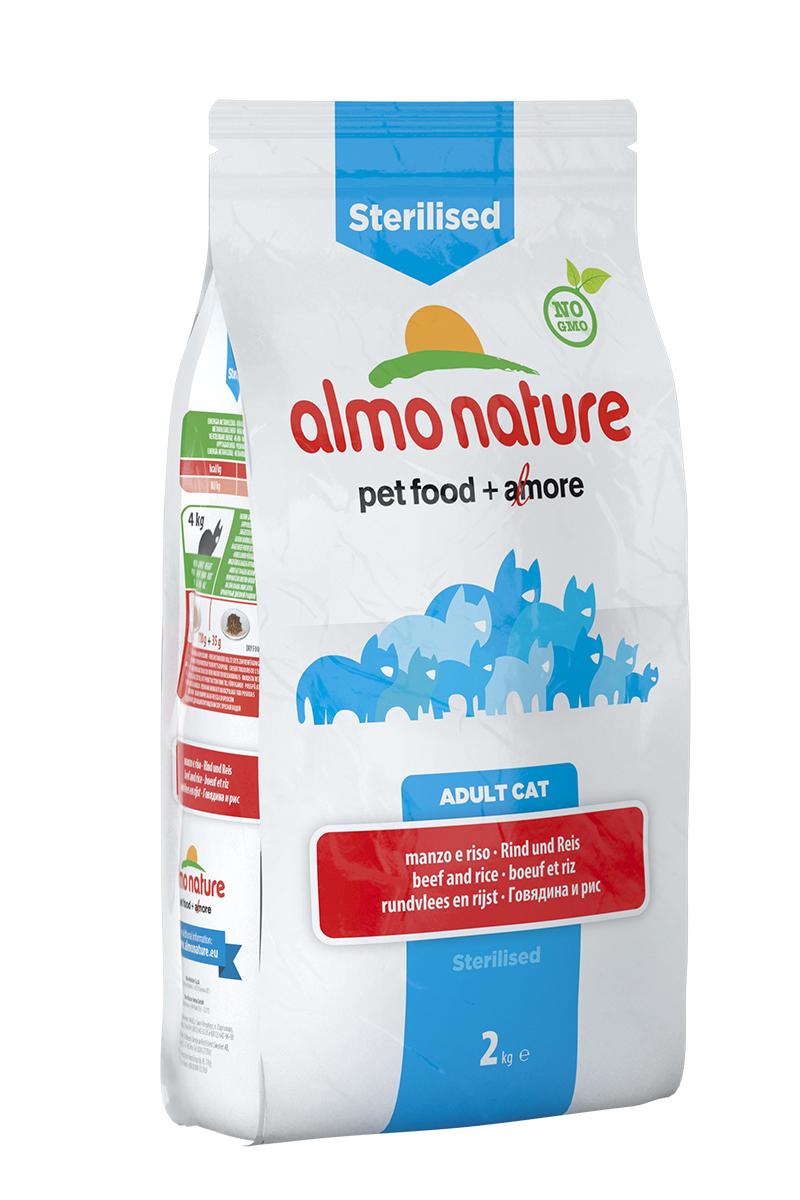 Корм сухой Almo Nature Functional line для кастрированных кошек, с говядиной и рисом, 2 кг20359Полнорационный корм Almo Nature Functional line рекомендован для кастрированных кошек. Корм содержит большой процент свежего мяса, что обеспечивает необходимым количеством питательных веществ и оптимальным содержанием протеина. Прекрасный вкус обеспечивается за счет свежих натуральных ингредиентов. Не содержит искусственных добавок, красителей, ароматизаторов, консервантов. Состав: мясо и его производные (15% свежей говядины ), злаки (рис 14%), экстракт растительного белка, масла и жиры, производные растительного происхождения (клетчатка 0,5%,инулин из цикория- источник ФОС-0,1%, юкка шидигера 0,1%), дрожжи, минералы, мананоолигосахариды, семена (льняное семя 0,1%). Пищевые добавки: витамин A 24000 IU/кг, витамин D3 1700 IU/кг, витамин E 400 мг/кг, витамин B1 10 мг/кг, витамин B2 8 мг/кг, кальций-D-пантотенат 16 мг/кг, витамин B6 6 мг/кг, витамин B12 0,15 мг/кг, витамин C 50 мг/кг, витамин K 1 мг/кг, биотин 0,50 мг/кг, фолиевая кислота 1 мг/кг, таурин 480 мг/кг,сульфат меди пентагидрат 32 мг/кг, меди хелат аминокислоты гидрат 40 мг/кг, иодат кальция 1,54 мг/кг, оксид цинка 166,7 мг/кг, цинк хелат гидрат аминокислоты 266,7 мг/кг, сульфат марганца моногидрат 78,1 мг/кг, органический селен 65,2 мг/кг. Пищевая ценность: белки 32%, клетчатка 2,9%, масла и жиры 17%, зола 8,3%, магний 0,07%, кальций 1,59%, фосфор 1%, влажность 8,5%. Калорийность: 3500 ккал/кг.Товар сертифицирован.Уважаемые клиенты! Обращаем ваше внимание на то, что упаковка может иметь несколько видов дизайна. Поставка осуществляется в зависимости от наличия на складе.
