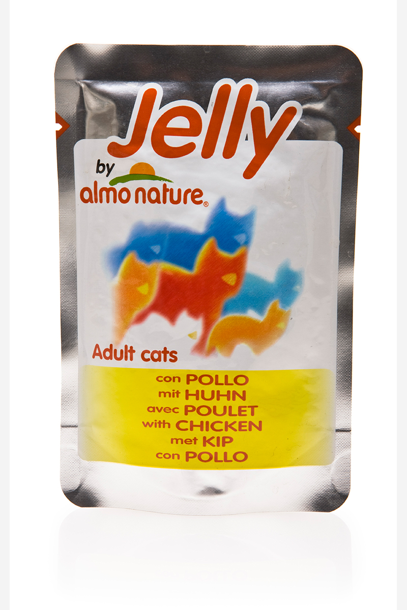 Консервы для кошек Almo Nature Classic, курица в желе, 70 г22520Консервы Almo Nature Classic - премиум корм для кошек. Корм изготовлен только из свежих высококачественных натуральных ингредиентов, что обеспечивает здоровье вашей кошки. Не содержит ГМО, антибиотиков, химических добавок, консервантов и красителей.Состав: курица 45%, куриный бульон в желатине (желе) 54,5%, рис 0,5%.Гарантированный анализ: белки 12%, клетчатка 0,1%, жиры 0,5%, зола 1%, влажность 86%.Товар сертифицирован.