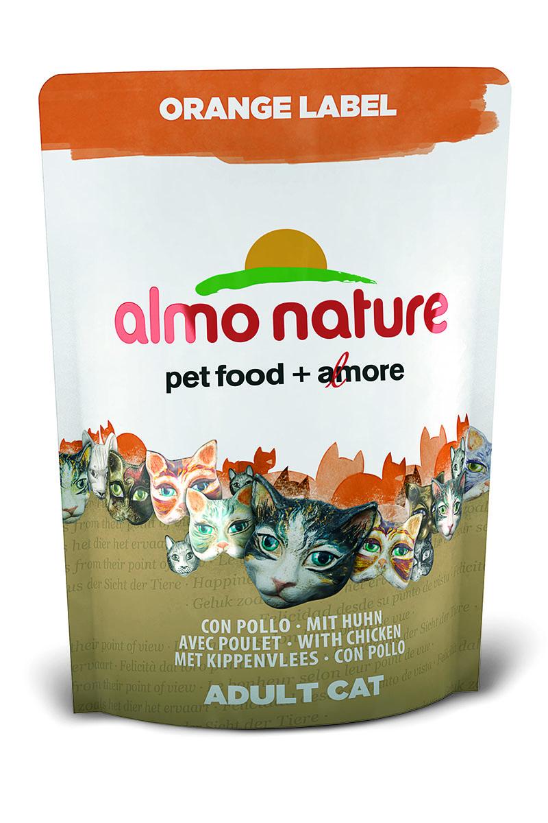 Корм сухой Almo Nature Orange label для кастрированных кошек, с курицей, 105 г0120710Полнорационный корм Almo Nature Orange label рекомендован для кастрированных кошек.Корм содержит большой процент свежего мяса, что обеспечивает необходимым количеством питательных веществ и оптимальным содержанием протеина. Прекрасный вкус обеспечивается за счет свежих натуральных ингредиентов. Не содержит искусственных добавок, красителей, ароматизаторов, консервантов. Состав: мясо курицы и ее производные (из которых 28% дегидрированного мяса и 15% свежегомяса), злаки, масла и жиры, экстракт растительного белка, дрожжи, минералы, субпродуктырастительного происхождения.Питательные добавки: таурин 0,6 г/кг, L-карнитин 0,11 г/кг, витамин D3 334 МЕ/кг, витамин Е 167 мг/кг, витамин С 84 мг/кг.Микроэлементы: железо 10 мг/кг, медь 0,1 мг/кг, цинк 68 мг/кг, марганец 0,6 мг/кг.Гарантированный анализ: белки – 32,3%, клетчатка – 1,3%, жиры – 14,3%, зола – 8,2%,влажность - 8%.Калорийность: 3602 ккал/кг.Товар сертифицирован.