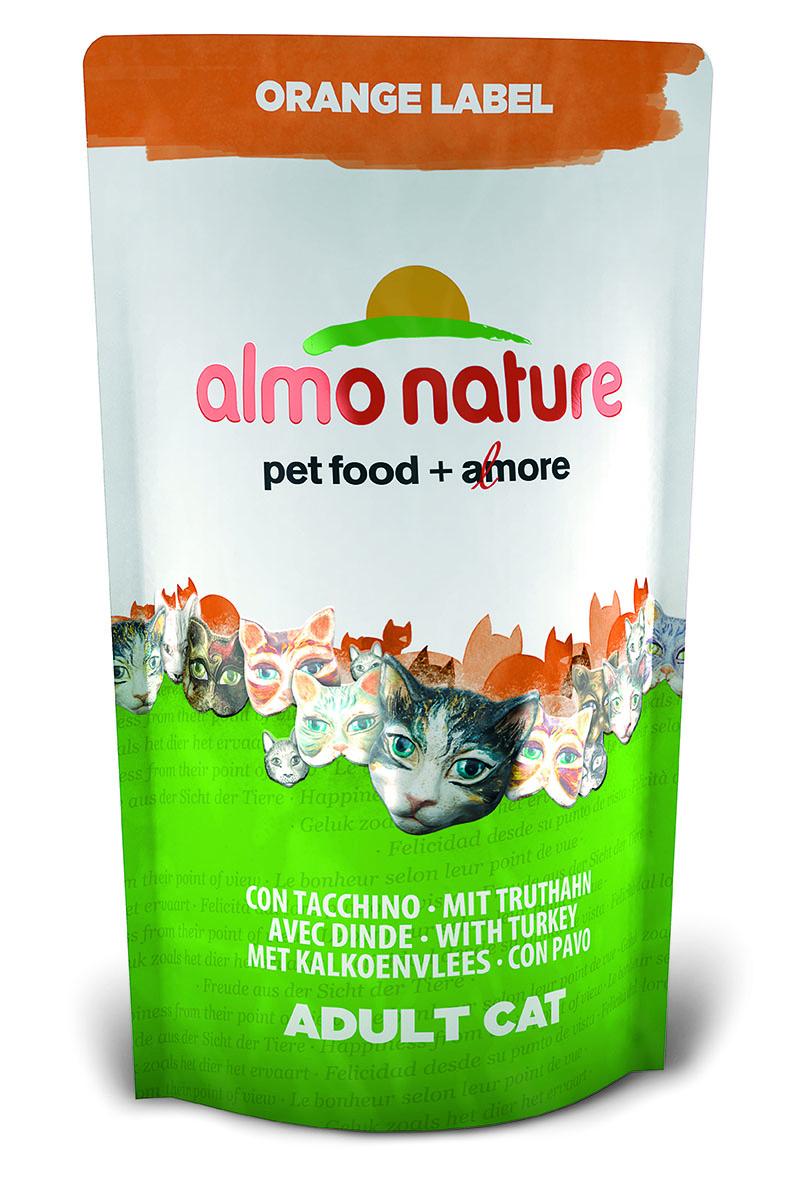 Корм сухой Almo Nature Orange label для кастрированных кошек, с индейкой, 750 г0120710Полнорационный корм Almo Nature Orange label рекомендован для кастрированных кошек. Корм содержит большой процент свежего мяса, что обеспечивает необходимым количеством питательных веществ и оптимальным содержанием протеина. Прекрасный вкус обеспечивается за счет свежих натуральных ингредиентов. Не содержит искусственных добавок, красителей, ароматизаторов, консервантов. Состав: мясо индейки и ее производные (из которых 20% дегидрированного мяса и 18% свежего мяса), злаки, масла и жиры, экстракт растительного белка, дрожжи, минералы, субпродукты растительного происхождения.Питательные добавки: таурин 0,6 г/кг, L-карнитин 0,11 г/кг, витамин D3 340 МЕ/кг, витамин Е 170 мг/кг, витамин С 85 мг/кг.Микроэлементы: железо 10 мг/кг, медь 0,1 мг/кг, цинк 69 мг/кг, марганец 0,6 мг/кг.Гарантированный анализ: белки – 33,5%, клетчатка – 1,3%, жиры – 16%, зола – 6,5%, влажность 8%.Товар сертифицирован.