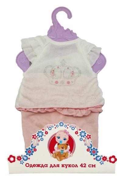 Mary Poppins Одежда для куклы 42см, футболка и штанишки.