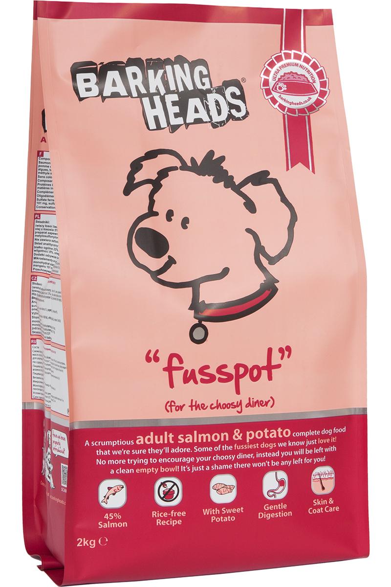 Корм сухой Barking Heads Суета вокруг миски, для собак, с лососем и картофелем, 2 кг25025Сухой корм Barking Heads - вкуснейший полнорационный корм для собак, специально разработанный, чтобы держать наших любимцев в наилучшей форме! Натуральные ингредиенты непременно понравятся вашему питомцу.Состав: свежеприготовленный лосось 26%, сладкий картофель, сушеный лосось, 14%, овес, картофель, лососевый жир 5%, подсолнечное масло, бульон из лосося 1,5%, морские водоросли, сушеный томат, забота о бедрах и суставах (глюкозамин 350 мг/кг, МСМ 350 мг/кг, хондроитин 240 мг/кг).Гарантированный анализ (%): белок 22%, содержание жира 16%, клетчатка 3%, зола 6,5%, влага 8%, Омега-6 3,6%, Омега-3 2,1%.Витамины (на кг): витамин А 16650 МЕ, витамин D3 1480 МЕ, витамин Е 460 МЕ.Комплекс микроэлементов (на гк): моногидрат сульфата железа 617 мг, моногидрат сульфата цинка 514 мг, моногидрат сульфата марганца 101 мг, пентагидрат сульфата меди 37 мг, безводный йодат кальция 4,55 мг, селенит натрия 0,51 мг.Товар сертифицирован.