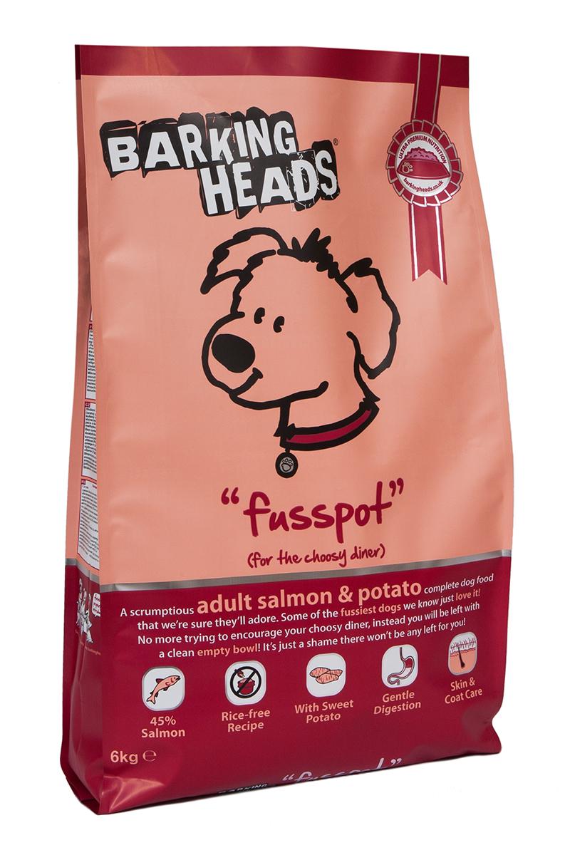 Корм сухой Barking Heads Суета вокруг миски, для собак, с лососем и картофелем, 6 кг0120710Сухой корм Barking Heads - вкуснейший полнорационный корм для собак, специально разработанный, чтобы держать наших любимцев в наилучшей форме! Натуральные ингредиенты непременно понравятся вашему питомцу.Состав: свежеприготовленный лосось 26%, сладкий картофель, сушеный лосось, 14%, овес, картофель, лососевый жир 5%, подсолнечное масло, бульон из лосося 1,5%, морские водоросли, сушеный томат, забота о бедрах и суставах (глюкозамин 350 мг/кг, МСМ 350 мг/кг, хондроитин 240 мг/кг).Гарантированный анализ (%): белок 22%, содержание жира 16%, клетчатка 3%, зола 6,5%, влага 8%, Омега-6 3,6%, Омега-3 2,1%.Витамины (на кг): витамин А 16650 МЕ, витамин D3 1480 МЕ, витамин Е 460 МЕ.Комплекс микроэлементов (на гк): моногидрат сульфата железа 617 мг, моногидрат сульфата цинка 514 мг, моногидрат сульфата марганца 101 мг, пентагидрат сульфата меди 37 мг, безводный йодат кальция 4,55 мг, селенит натрия 0,51 мг.Товар сертифицирован.