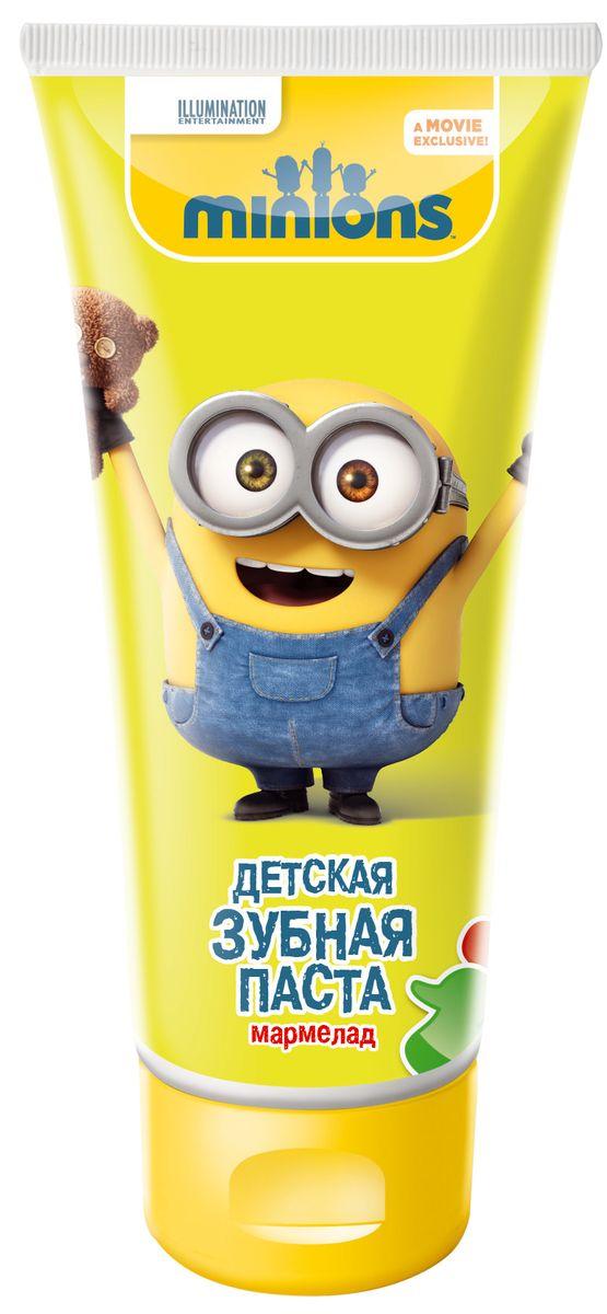 Гадкий Я Зубная паста детская Мармеладка, 65 мл5010777139655Превращает процедуру чистки зубов в удовольствие! Специальный состав предохраняет зубы ребенка от кариеса, ухаживает за полостью рта и придает свежесть! Самый вкусный аромат жевательной мармеладки! Специально разработанная рецептура для детей от 2 лет и старше. Мягко очищает и освежает полость рта, эффективно защищает от кариеса, как молочные, так и постоянные зубы.Рекомендовано детям от 2 лет и старше.Использовать под присмотром взрослых!