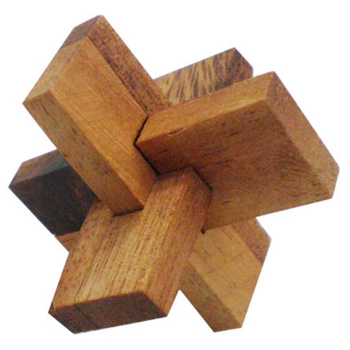 """Головоломка Dilemma """"C. С. О. мини"""", выполненная из дерева, станет отличным подарком всем любителям головоломок! Состоит головоломка из 3 элементов в форме букв С, С и О. Необходимо собрать эти элементы в трехмерный объект. Если слишком сложно, то вы можете воспользоваться подсказкой, которая предложена в инструкции. Рассчитана игра на одного игрока. Головоломка Dilemma """"C. С. О. мини"""" стимулирует логику, пространственное мышление и мелкую моторику рук."""