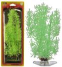 Растение Penn-Plax Stonewort-Nittela, светящееся, цвет: зеленый, высота 27 см0120710Подводное искусственное растение для аквариума Penn-Plax Stonewort-Nittela - эффектный светящийся вариант популярного растения, является неотъемлемой частью композиции аквариума, радует глаз, а также может быть уютным убежищем для рыб и других обитателей аквариума. Пластиковое растение имеет устойчивое дно, которое не нуждается в дополнительном утяжелении и легко устанавливается в грунт. Растение очень практично в использовании, имеет стойкую к воздействию воды окраску и не требует обременительного ухода. Его можно легко достать и протереть тряпкой во время уборки аквариума. Растения из пластика создадут неповторимый дизайн пресноводного или морского аквариума.Высота растения: 27 см.