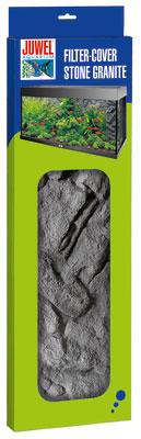 Фон для внутреннего фильтра Juwel Stone Granite 55,5 х 18,6/15,7 см86923Фон для декорирования корпуса внутреннего фильтра Stone Granite в точности имитирует структуру скальных пород с естественным гранитнымоттенком и является идеальным дополнением для задней стенки Stone Granite. Глубина установки составляет всего 1 - 1,5 см и придает вашемуфильтру неброский эстетичный вид без значительного увеличения размеров конструкции.Фон фильтра состоит из двух частей: передней и боковой.Он подходит для всех типов аквариумов JUWEL и применяемых в них фильтров, не требуя значительных усилий для подгонки.Фон фильтра Stone Granite изготовлен из чрезвычайно плотного полиуретана и покрыт слоем эпоксидной смолы. Благодаря этой сложной производственной технологии облицовка с легкостью поддается резке и при этом отличается чрезвычайно прочнойповерхностью и стойкостью цвета. Облицовка фильтра Stone Granite – идеальное дополнение для задних стенок Stone Granite.