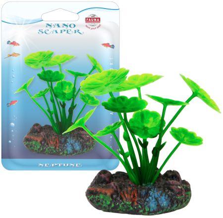 Растение HIDROCOTYLE 7см с грузом зеленое. ЩИТОЛИСТНИК0120710Распространение: Центральная Америка. Использование: растение переднего плана.
