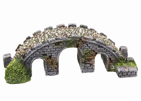 Декорация МОСТИК 21х8х6,5см пластик8817Аквариумные декорации в виде пластиковых мостиков различных времен являются эффектным элементом декорирования аквариума, служат укрытием для его обитателей.