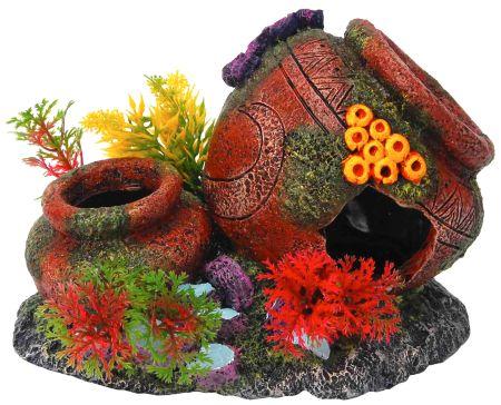 Распылитель декоративный ДВЕ ВАЗЫ12171996Декоративный пластиковый распылитель. Вместе с основной функцией распыления воздуха является эффектным элементом декорирования аквариума.
