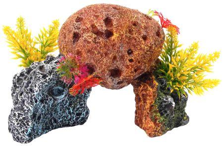 Декорация КОРАЛЛЫ 17,2х10,2х12см пластик0120710Красочный пластиковый коралл. Комбинации из различных кораллов создают в аквариуме пеструю и причудливую картину морского дна. Красочная упаковка.