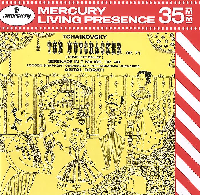Antal Dorati. Tchaikovsky. The Nutcracker, Op.71 / Serenade In C Major, Op. 48 (2 CD)