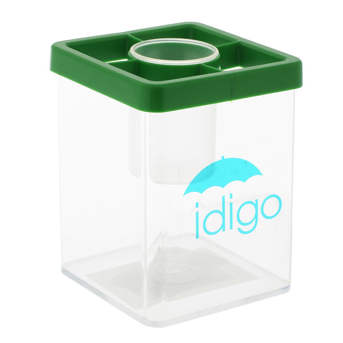 Многофункциональная подставка-стакан Idigo, цвет: зеленый idigo полимерная глина для запекания 58гр цв зеленый неон sm55811