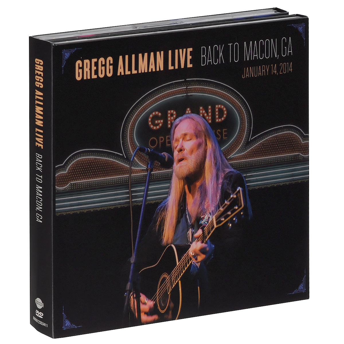 Грегг Оллмен Gregg Allman. Live: Back To Macon, GA (2 CD + DVD) the allman brothers band the allman brothers band at fillmore east 2 lp