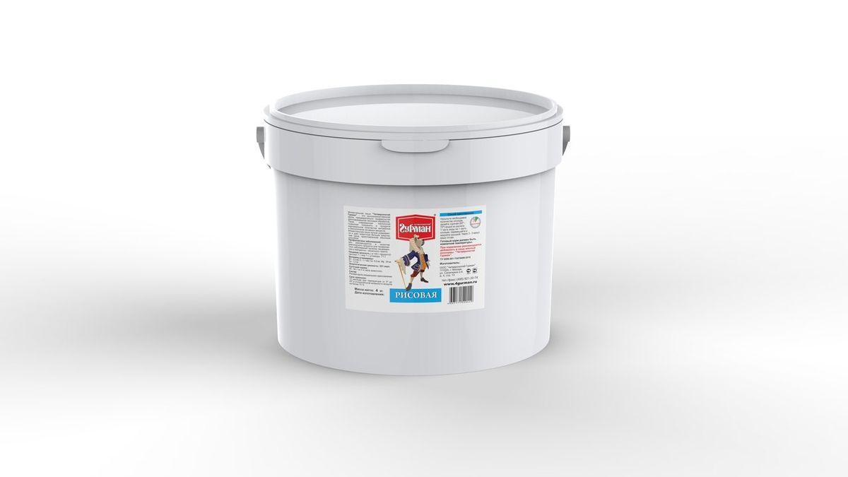 Рисовая каша моментального приготовления для собак Четвероногий гурман, 4 кг10371Рисовая каша моментального приготовления Четвероногий гурман произведена из высококачественной рисовой крупы. В процессе производства сырье подвергается кратковременному воздействию высокой температуры и давления, благодаря этому сохраняется максимум полезных свойств и питательной ценности продукта. Крупы - необходимый элемент полноценного рациона собаки. Моментальная каша лучше усваивается и дает собаке больше энергии, чем каша, сваренная обычным способом. Для приготовления кашу необходимо залить горячей (не кипящей) водой и подождать, пока блюдо остынет до комнатной температуры. Полезные свойства рисовой каши: - Используется в качестве диетического продукта. Полезна для профилактики заболеваний органов пищеварения и желудочно-кишечного тракта. - Понижает уровень холестерола. Является наименее аллергенным продуктом из зерновых. Состав: рисовая крупа специального приготовления. Пищевая ценность (в 100 г продукта): протеин 7 г, жир 1 г, углеводы 71 г. Витамины и минералы: В1 0,3 мкг, E 1,1 мг, Ca 6,3 мг, Mg 34 мг, Fe 1,2 мг. Энергетическая ценность: 321 ккал.Товар сертифицирован.