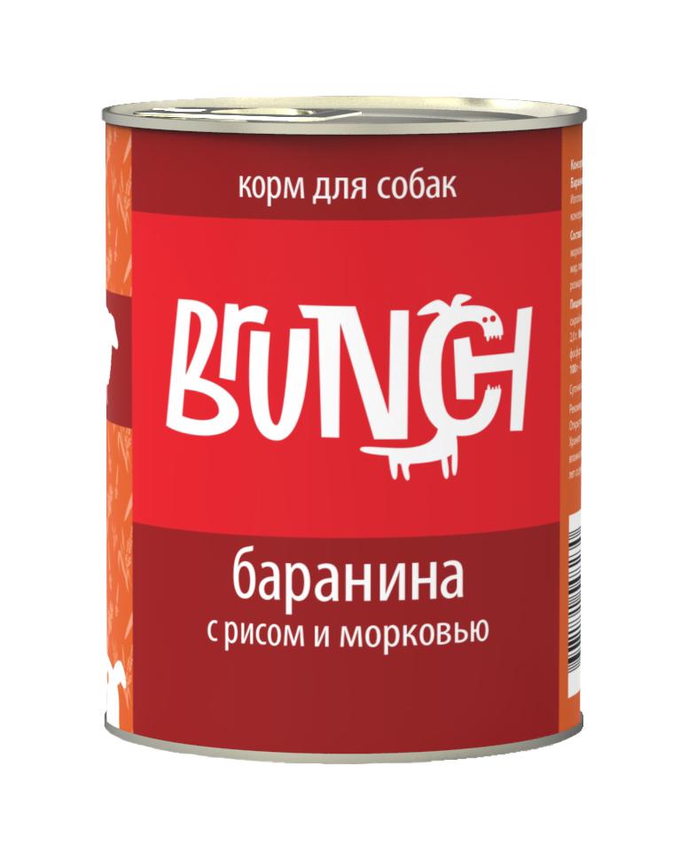 Консервы для собак Brunch Баранина с рисом, 340 г0120710Консервы Brunch для собак — полноценные мясорастительные корма из натуральных ингредиентов. Помимо мяса и субпродуктов, продукт содержит крупы (каши) и овощи. Рецептура является уникальной разработкой компании. Пропорции определены в соответствии с научными исследованиями, отвечают потребностям домашних животных в питательных веществах. Корм максимально приближен к полному рациону.Состав: баранина, сердце, рубец говяжий, печень, рис, морковь, масло растительное, желирующая добавка, рыбий жир, пивные дрожжи, йодированная соль, морские водоросли, розмарин, юкка шидигера, ферментированный рис.Вес: 340 г.