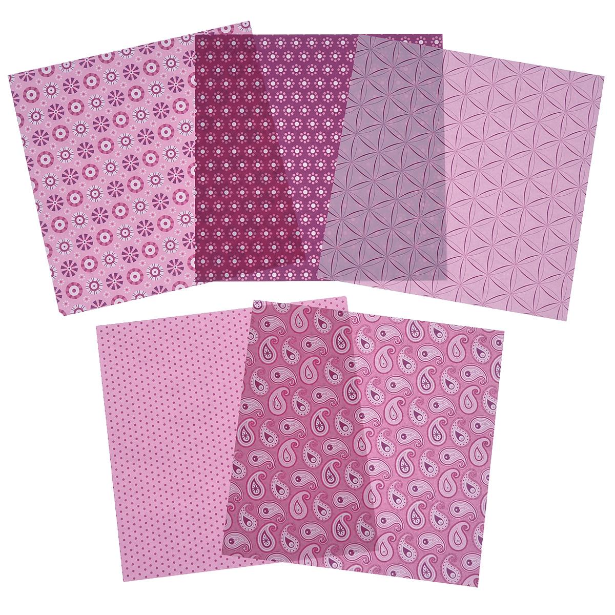 Бумага для оригами Folia, цвет: розовый, 15 х 15 см, 50 листовC0042416Набор специальной цветной двусторонней бумаги для оригами Folia содержит 50 листов разных цветов, которые помогут вам и вашему ребенку сделать яркие и разнообразные фигурки. В набор входит бумага пяти разных дизайнов. С одной стороны - бумага однотонная, с другой - оформлена оригинальными узорами и орнаментами. Эти листы можно использовать для оригами, украшения для садового подсвечника или для создания новогодних звезд. При многоразовом сгибании листа на бумаге не появляются трещины, так как она обладает очень высоким качеством. Бумага хорошо комбинируется с цветным картоном.За свою многовековую историю оригами прошло путь от храмовых обрядов до искусства, дарящего радость и красоту миллионам людей во всем мире. Складывание и художественное оформление фигурок оригами интересно заполнят свободное время, доставят огромное удовольствие, радость и взрослым и детям. Увлекательные занятия оригами развивают мелкую моторику рук, воображение, мышление, воспитывают волевые качества и совершенствуют художественный вкус ребенка.Плотность бумаги: 80 г/м2.Размер листа: 15 см х 15 см.