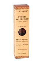 Дом Арганы Fruits du Maroc Масло арганы для ухода и массажа Амбра - Мускус, 100 млFS-00897Экстракт мускуса создает атмосферу сексуальности и чувственности, снижает чувство обеспокоенности и меланхолии. Экстракт амбра активизирует кровообращение, борется с усталостью, депрессией и стрессом, придает сил, успокаивает, способствует балансу. Благодаря использованию этого масла после душа или во время массажа Вы испытаете уникальные ощущения, а на коже останется тонкий аромат амбра и мускуса, чувственный и тонизирующий.