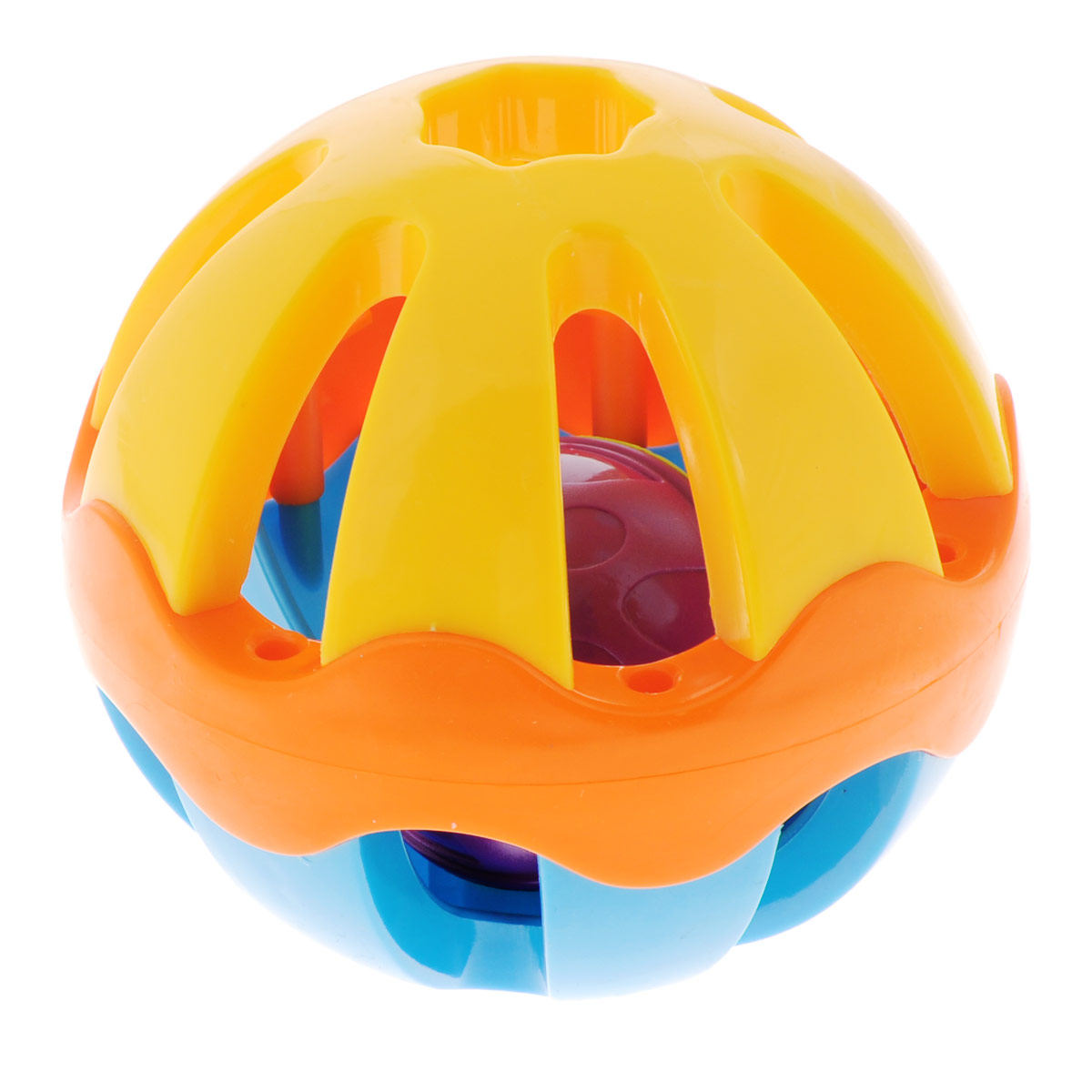 Погремушка Mioshi Шар погремушка mioshi гибкий шар цвет желтый голубой