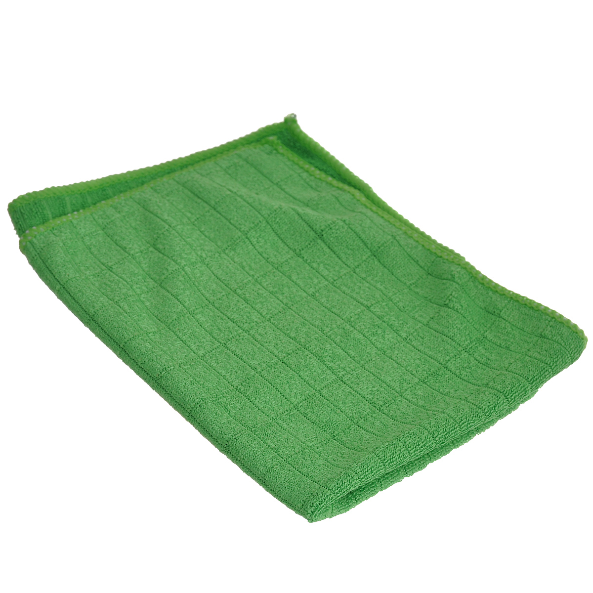 Салфетка для мытья и полировки автомобиля Sapfire Micro Lines, цвет: зеленый, 30 х 40 см106-026Салфетка Sapfire Micro Lines выполнена из высококачественного полиэстера и полиамида. Каждая нить после специальной химической обработки расщепляется на 12-16 клиновидных микроволокон. Микрофибровое полотно удаляет грязь с поверхности намного эффективнее, быстрее и значительно более бережно в сравнении с обычной тканью, что существенно снижает время на проведение уборки, поскольку отсутствует необходимость протирать одно и то же место дважды. Использовать салфетку можно для чистки как наружных, так и внутренних поверхностей автомобиля. Используя подобную мягкую ткань, можно проникнуть даже в самые труднодоступные места и эффективно очистить от пыли и бактерий все поверхности. Микрофибра устойчива к истиранию, ее можно быстро вернуть к первоначальному виду с помощью машинной стирки при малом количестве моющих средств. Состав: 80% полиэстер, 20% полиамид.