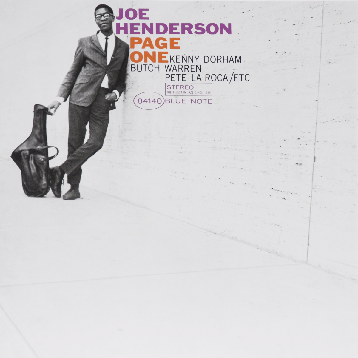 Джо Хендерсон Joe Henderson. Page One (LP) кольца page 1