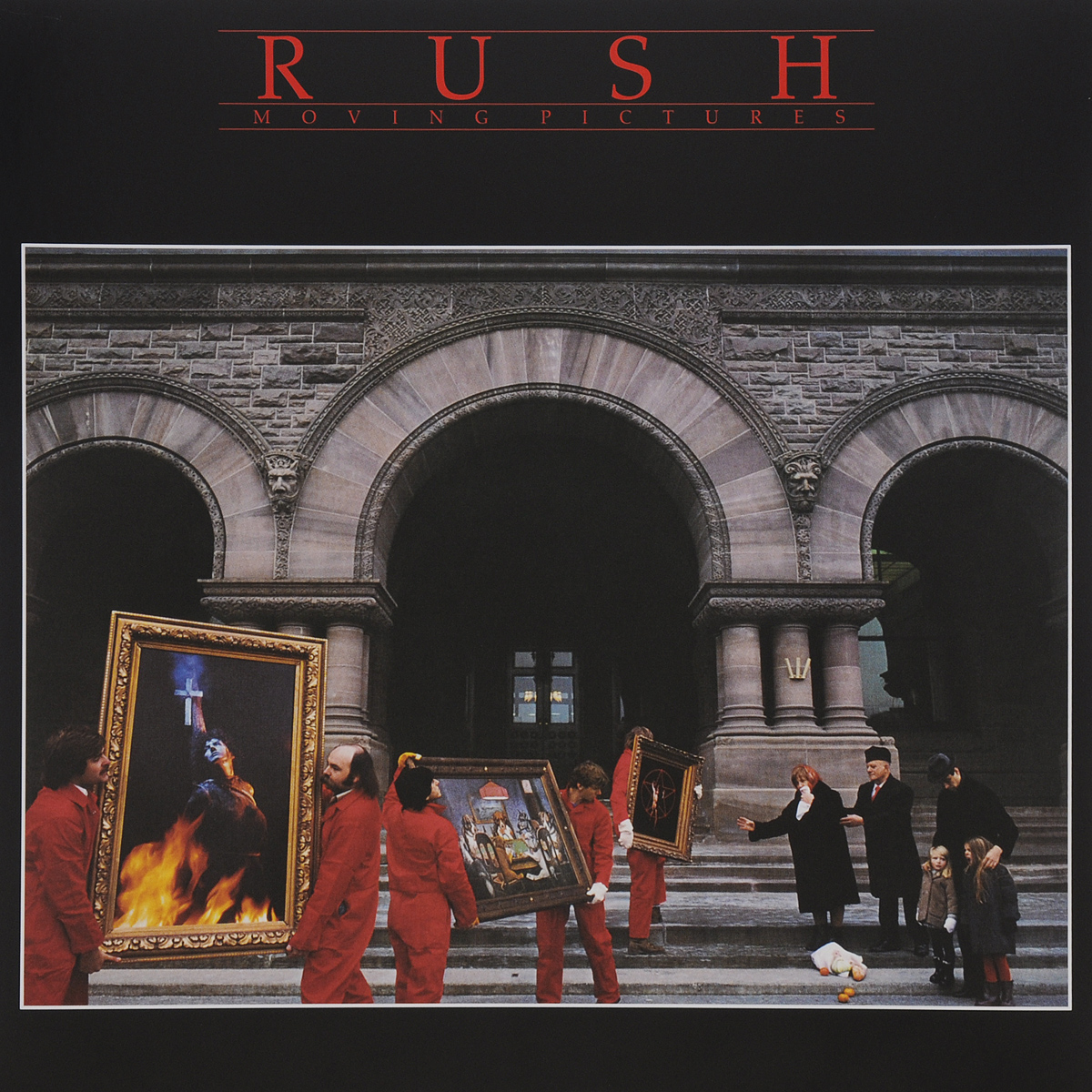 Rush Rush. Moving Pictures (LP) rush rush moving pictures lp