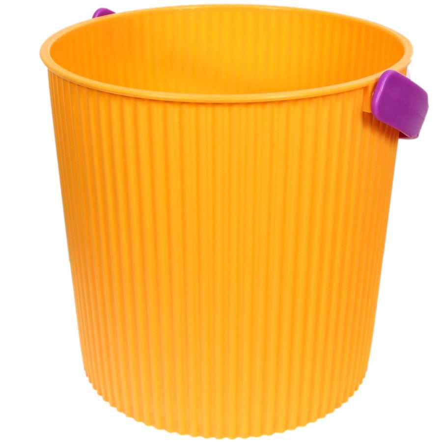 Ведро-стульчик желтое 10л BAMBINIVCA-00Ручки ведра в цветовом ассортименте.
