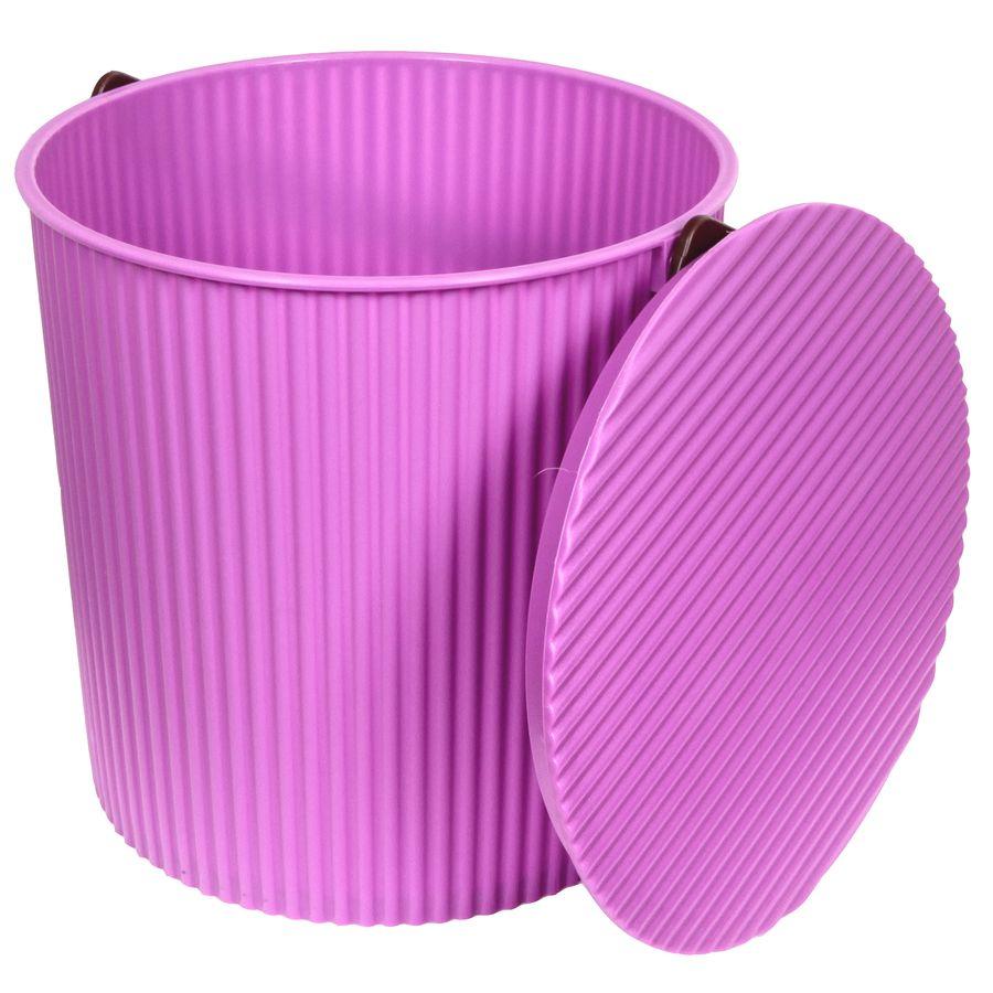 Ведро-стульчик фиолетовое 10л BAMBINICLP446УВАЖАЕМЫЕ КЛИЕНТЫ!Обращаем ваше внимание на то, что цвет ручки может меняться в зависимости от прихода товара на склад.