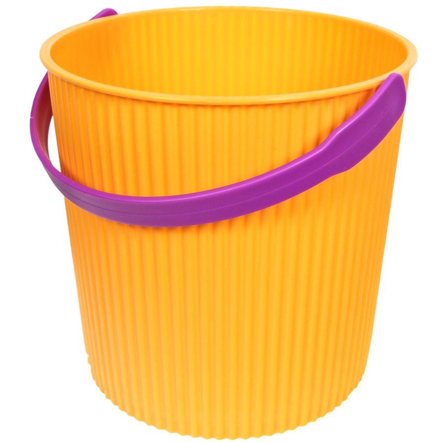 Ведро-стульчик желтое 20л GRANDE531-105 Уважаемые клиенты! Обращаем ваше внимание на возможные изменения в цвете деталей товара. Поставка осуществляется в зависимости от наличия на складе.