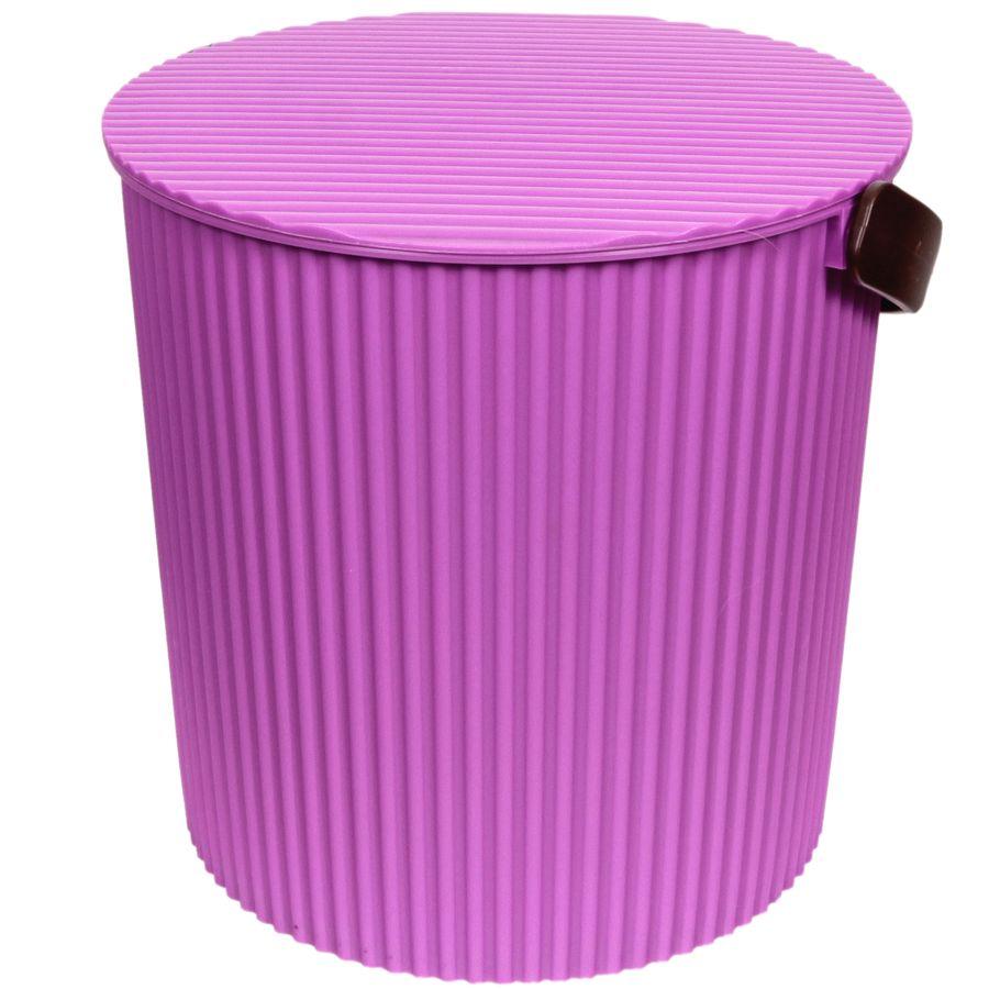 Ведро-стул фиолетовое 20л GRANDE531-105УВАЖАЕМЫЕ КЛИЕНТЫ!Обращаем ваше внимание на то, что цвет ручки может меняться в зависимости от прихода товара на склад.
