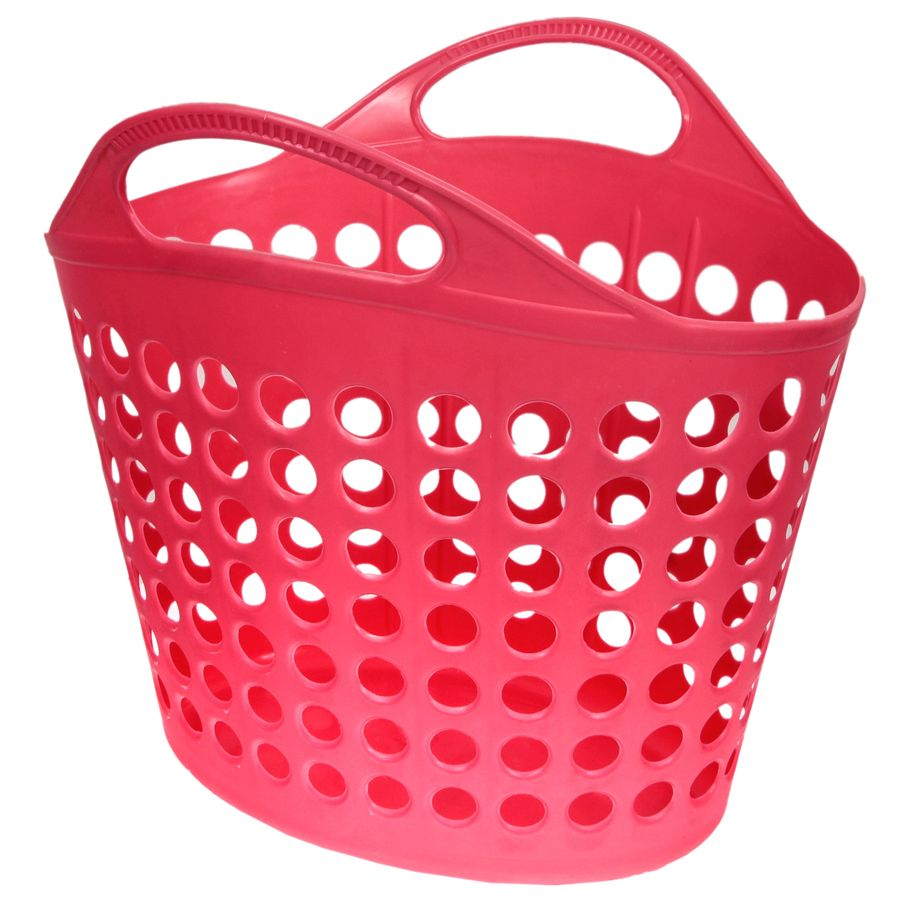 Корзина для белья Изумруд, цвет: темно-розовый, 10 кг12723Корзина для белья Изумруд изготовлена из прочного пластика. Корзина устойчива к перепадам температур и влажности, поэтому идеально подходит для ванной комнаты. Изделие оснащено двумя ручками. Можно использовать для хранения белья, детских игрушек, домашней обуви и прочих бытовых вещей. Элегантный дизайн подойдет к интерьеру любой ванной. Высота корзины: 42 см.Размер корзины (по верхнему краю): 41 х 41 см.