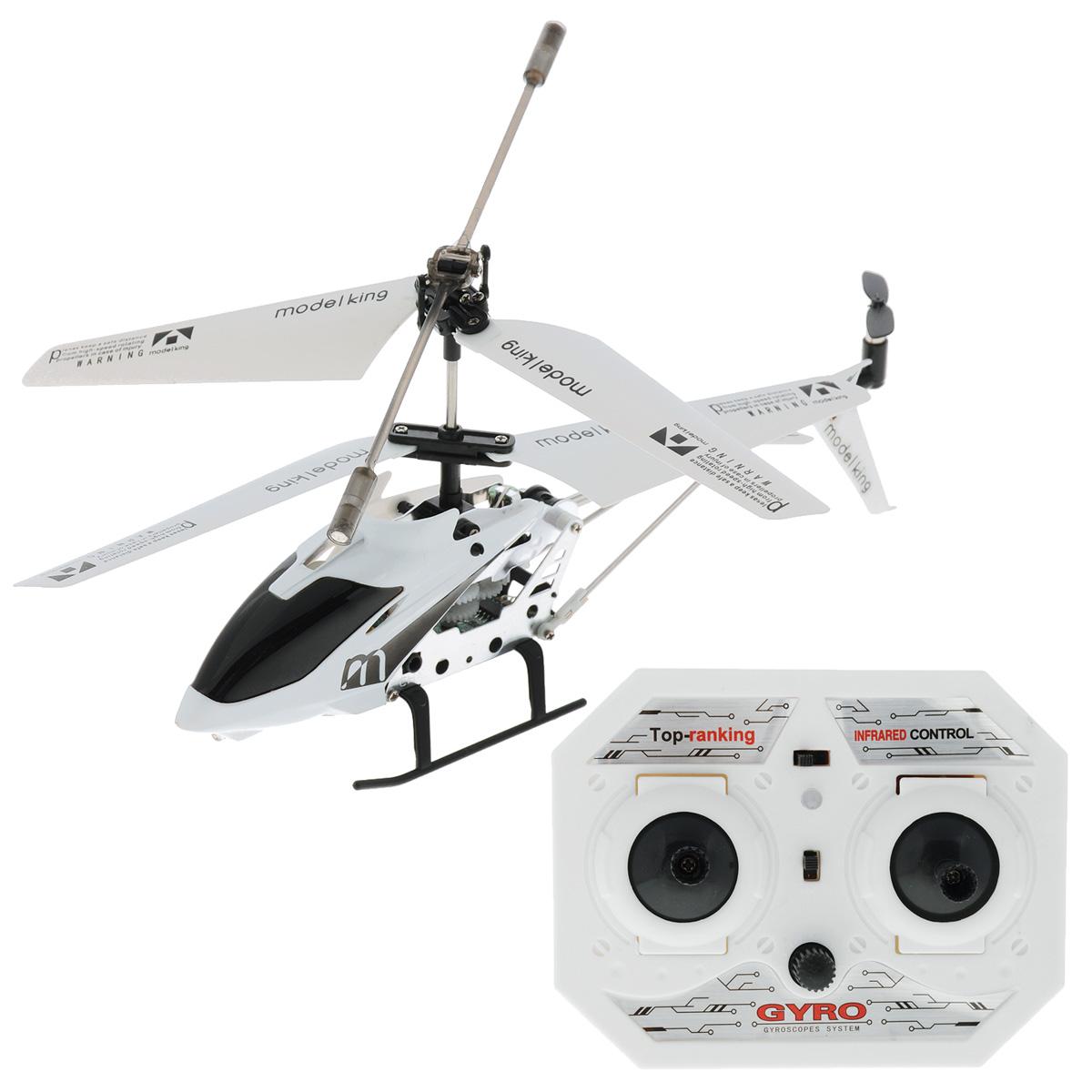 Радиоуправляемая модель Junfa  Вертолет Model King , цвет: белый - Транспорт, машинки