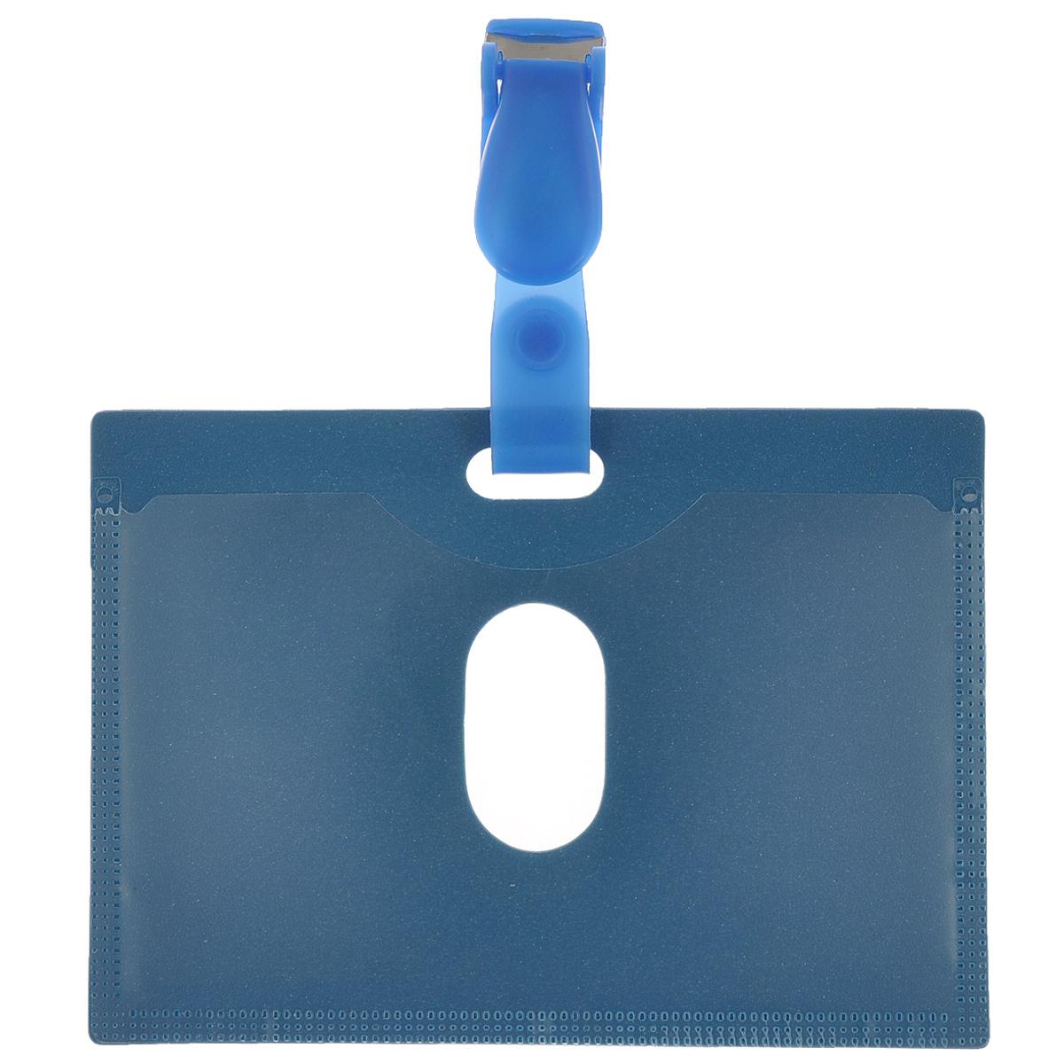 """Бейдж """"Proff"""" - неотъемлемый атрибутом любого офиса или филиала компании и является визитной карточкой сотрудника, уважающего своего клиента. Бейдж """"Proff"""" изготовлен из прочного непрозрачного пластика, имеет прозрачный кармашек, внутрь которого помещается информационный вкладыш. Фиксируется на одежде при помощи надежного пластикового зажима, который крепится к бейджу при помощи хлястика. Бейдж имеет закругленные углы, что обеспечивает износостойкость и опрятный внешний вид."""