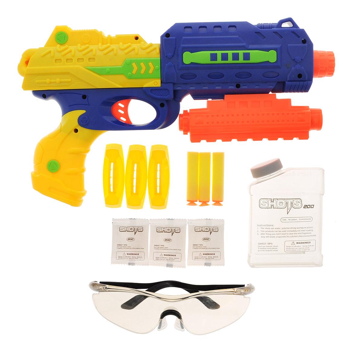 Игровой набор Mioshi Army  Стража: Бластер М34 , цвет: синий, желтый - Игрушечное оружие