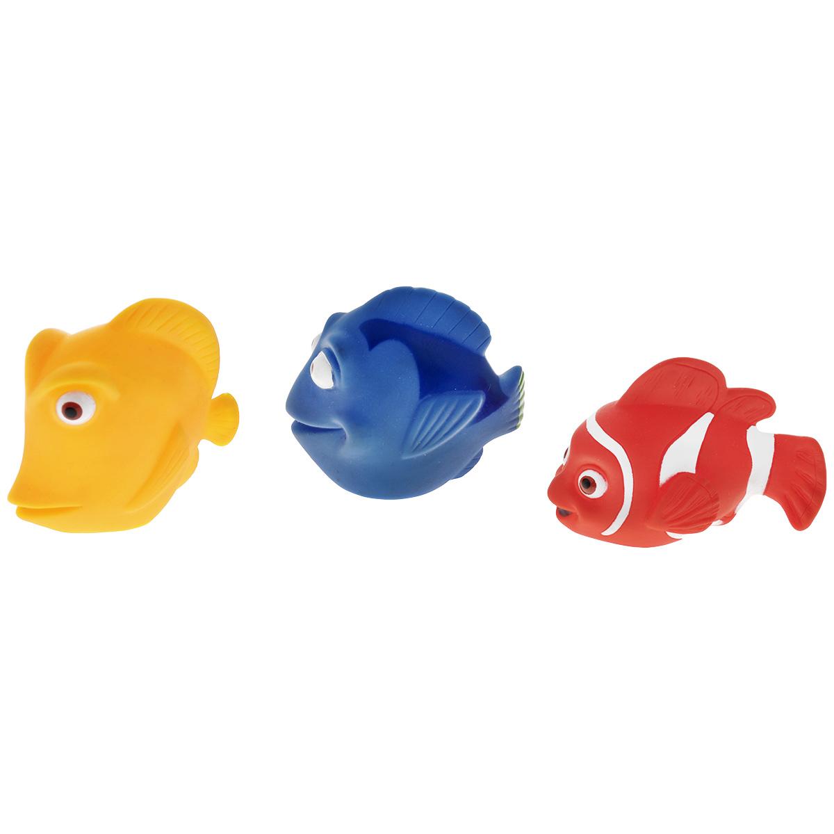 Игровой набор для ванны Mioshi Коралловый риф, 3 шт игрушки для ванны tolo toys набор ведерок квадратные