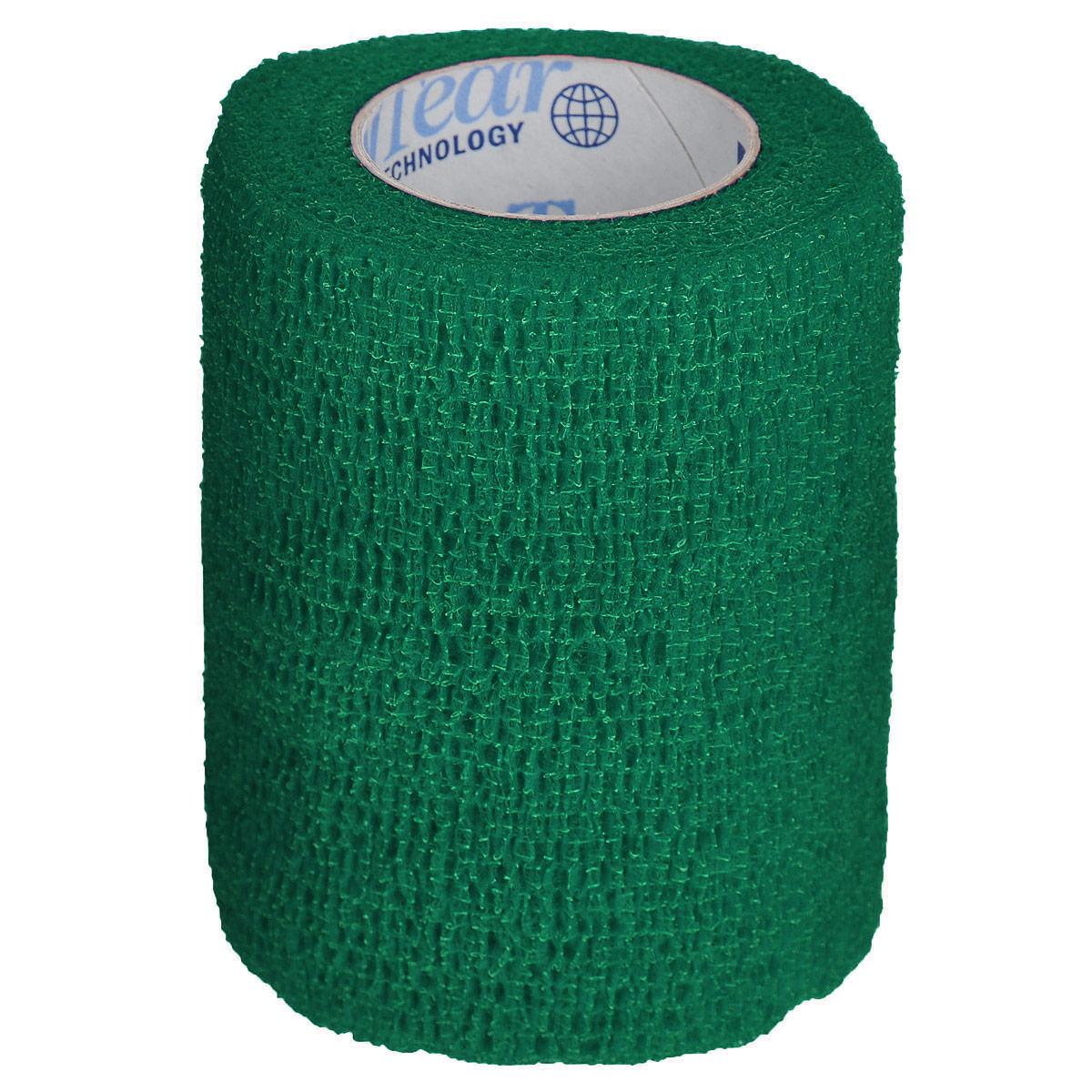 Бандаж для животных Andover Pet Flex, цвет: темно-зеленый, 7,5 см х 450 см36056/15613Бандаж для животных Andover Pet Flex - это эластичный самофиксирующийся бинт. Имеет контролируемую компрессию (оказывает оптимальное давление на мягкие ткани и кровеносные сосуды, не сдавливая и не стягивая их). При необходимости бандаж легко оторвать в ручную, без применения острых режущих предметов (ножниц). Бандаж легко наносится, снимается, моделируется (не прилипает к коже и шерсти, не смещается) - нет необходимости в зажимах или других фиксаторах. Воздухопроницаем и влагонепроницаем, что обеспечивает защиту от грязи и влаги.Длина: 4,5 м.Ширина: 7,5 см.