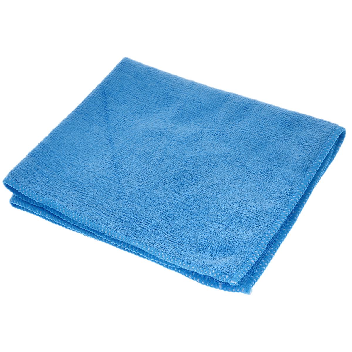 Салфетка из микрофибры Magic Power, для ухода за СВЧ печами и духовыми шкафами, цвет: синий, 35 х 40 см531-105Салфетка Magic Power, изготовленная из микрофибры (75% полиэстера, 25% полиамида), предназначена для ухода за СВЧ печами и духовыми шкафами, для очистки внешней и внутренней поверхности плит и микроволновых печей от любых видов загрязнений, для полировки и придания блеска. Идеально подходит для использования со средствами Magic Power по уходу за СВЧ-печами и духовыми шкафами. Не оставляет разводов и ворсинок. Обладает повышенной прочностью.